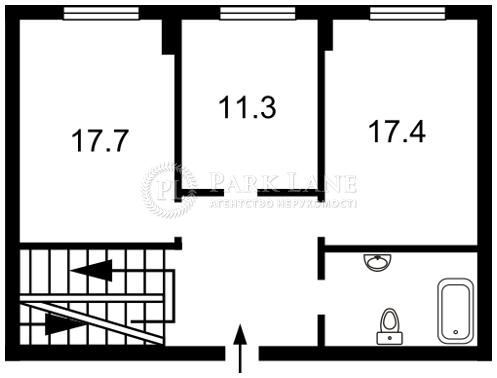 Квартира ул. Бульварно-Кудрявская (Воровского) , 11а, Киев, Z-864705 - Фото 4