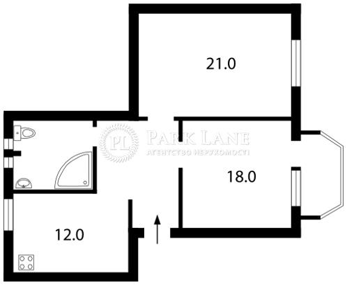 Квартира ул. Заньковецкой, 3/1, Киев, E-13824 - Фото 2