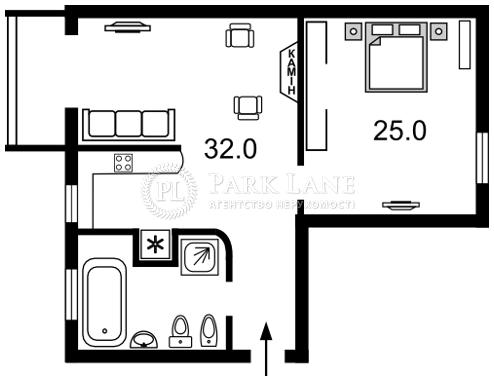 Квартира ул. Леонтовича, 5, Киев, Z-1085068 - Фото 2