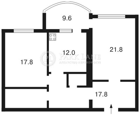Квартира Героев Сталинграда просп., 10а, Киев, F-7298 - Фото 2