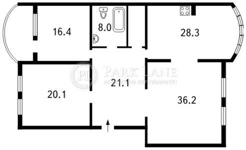 Квартира ул. Оболонская набережная, 19, Киев, F-22971 - Фото 2