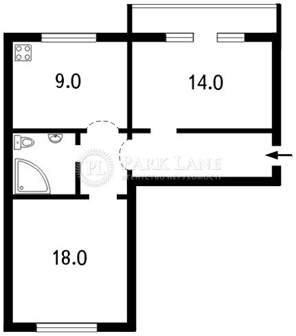 Квартира ул. Хмельницкого Богдана, 23, Киев, I-5157 - Фото 2