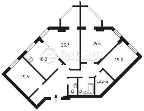 Квартира вул. Окіпної Раїси, 4а, Київ, B-77110 - Фото 2