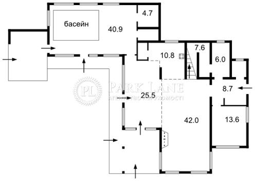 Дом Плюты (Конча-Заспа), F-24488 - Фото 2