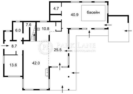 Дом Плюты (Конча-Заспа), F-24489 - Фото 2