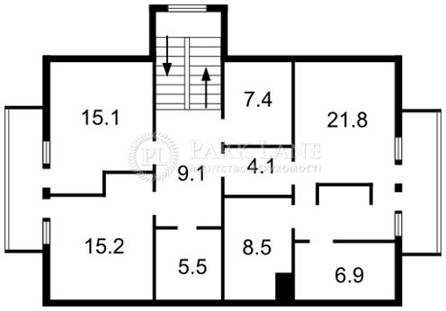 Дом Плюты (Конча-Заспа), F-24489 - Фото 3