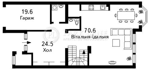 Будинок Козин (Конча-Заспа), C-79703 - Фото 1