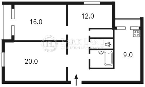 Квартира ул. Антоновича (Горького), 110, Киев, B-71508 - Фото 2