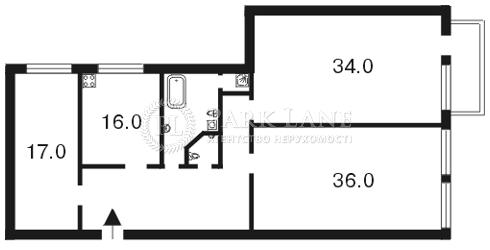 Квартира ул. Заньковецкой, 4, Киев, A-83502 - Фото 2