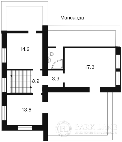Дом ул. Гончара, Борисполь, A-78522 - Фото 1