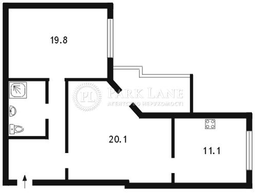 Квартира ул. Шота Руставели, 33а, Киев, Z-569045 - Фото 2