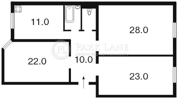 Квартира ул. Лютеранская, 4, Киев, I-1939 - Фото 2