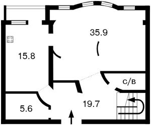 Офис, Z-1057123, Спасская, Киев - Фото 2