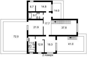 Дом B-95114, Набережная, Ходосовка - Фото 3