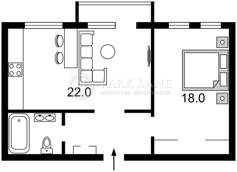 Квартира ул. Владимирская, 82в, Киев, Z-170388 - Фото 2