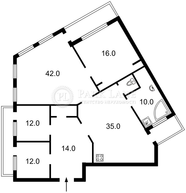 Квартира ул. Обсерваторная, 10, Киев, R-9493 - Фото 2