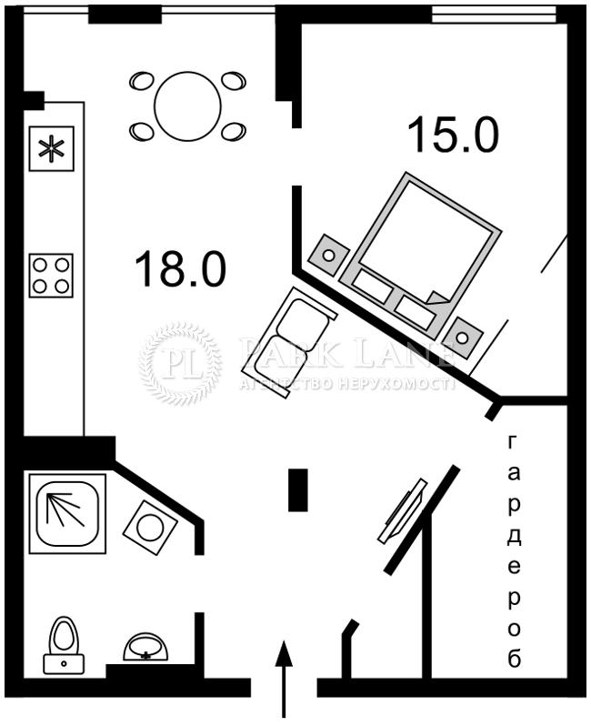Квартира ул. Регенераторная, 4корп.14, Киев, R-5217 - Фото 2
