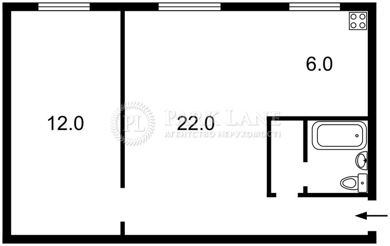 Квартира Гордиенко Костя пер. (Чекистов пер.), 8, Киев, K-24940 - Фото 2