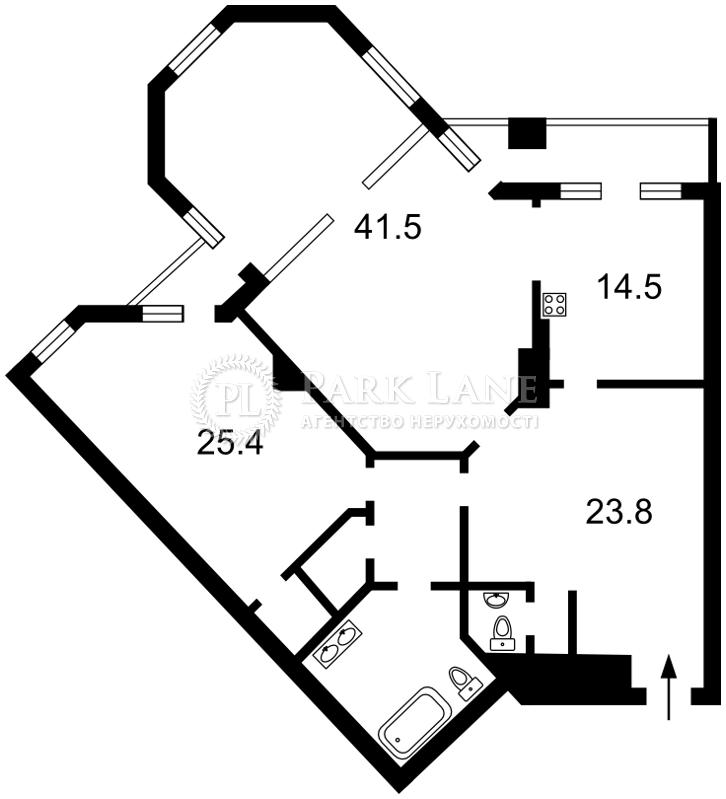 Квартира Шевченко Тараса бульв., 11, Киев, K-24754 - Фото 2