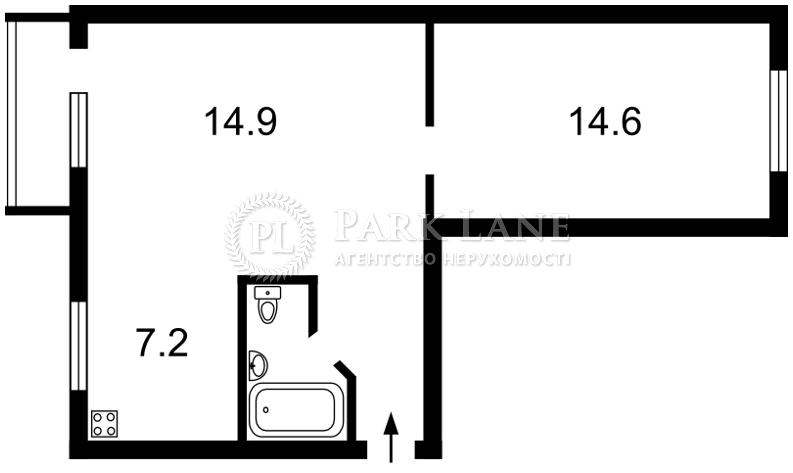 Квартира вул. Сєченова, 10 корпус 3, Київ, R-8001 - Фото 2