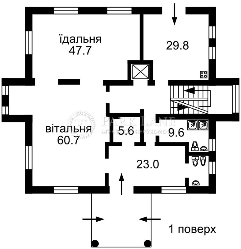 Дом ул. Зверинецкая, Киев, N-18369 - Фото 5