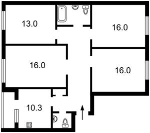 Квартира H-39465, Героев Сталинграда просп., 16д, Киев - Фото 5