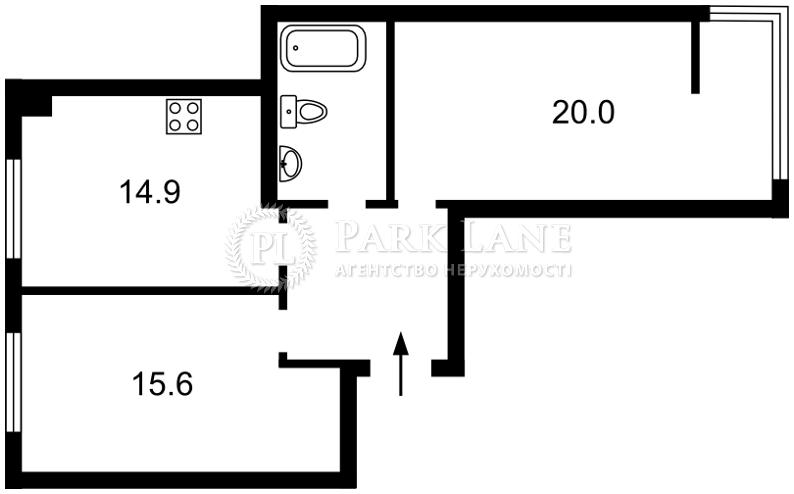 Квартира ул. Практичная, 6, Киев, Z-173710 - Фото 2