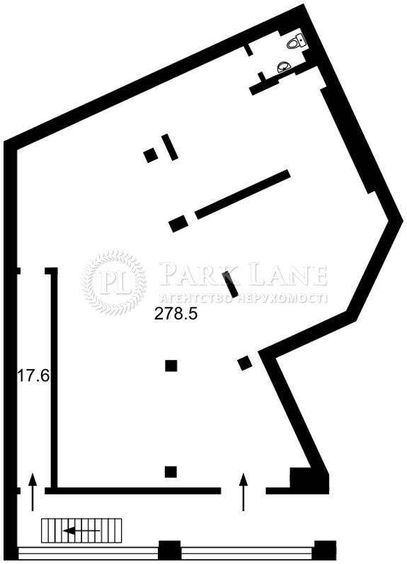 Нежилое помещение, ул. Липкивского Василия (Урицкого), Киев, L-24507 - Фото 2