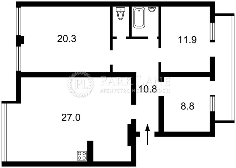 Квартира ул. Михайловская, 2, Киев, N-18425 - Фото 2
