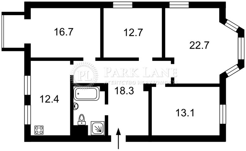 Квартира I-27135, Шелковичная, 23, Киев - Фото 2