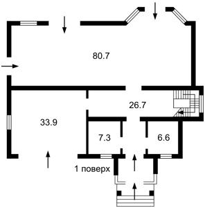 Дом B-95271, Лебедевка (Вышгородский) - Фото 3