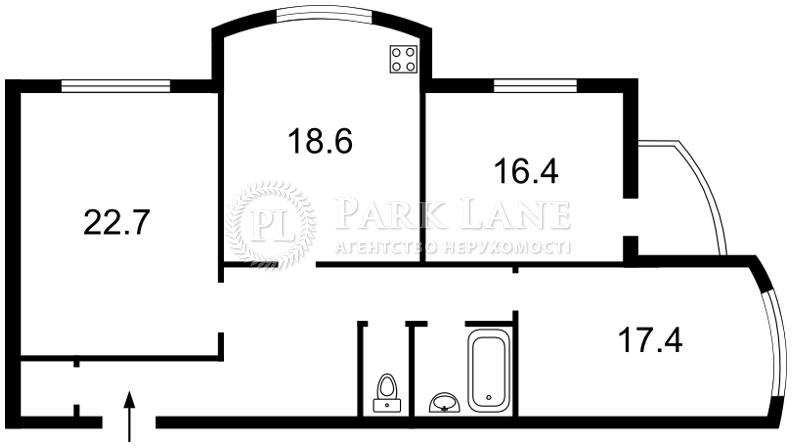 Квартира Лобановского просп. (Краснозвездный просп.), 126г, Киев, X-36932 - Фото 2