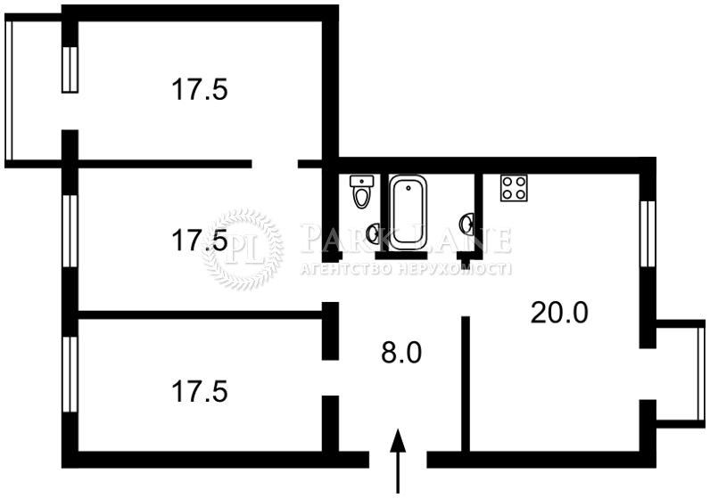 Квартира ул. Пугачева, 17, Киев, I-13153 - Фото 2
