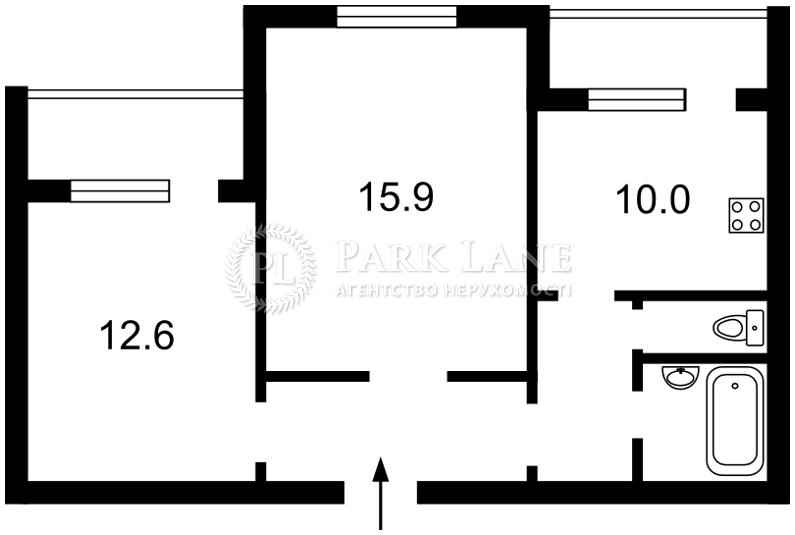 Квартира ул. Героев Днепра, 32г, Киев, Z-1134606 - Фото 2