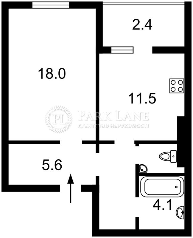 Квартира ул. Данченко Сергея, 5, Киев, Z-198043 - Фото 2