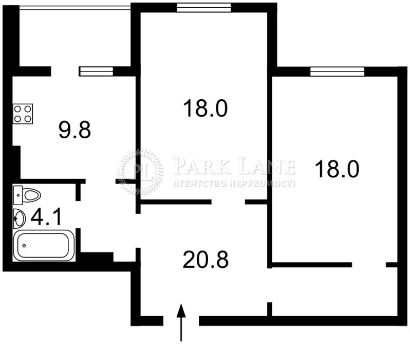 Квартира вул. Олевська, 7, Київ, Z-1827828 - Фото 2