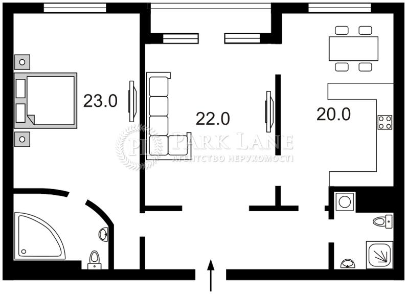 Квартира ул. Зверинецкая, 59, Киев, Z-174541 - Фото 2