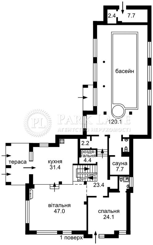 Будинок Лісники (Києво-Святошинський), B-95351 - Фото 3