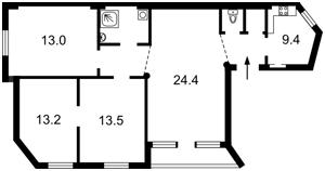 Квартира Z-215634, Пушкинская, 43в, Киев - Фото 3