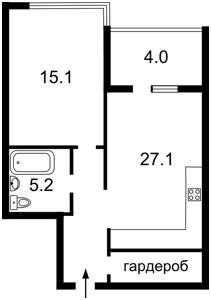 Квартира Z-172976, Джона Маккейна (Кудри Ивана), 7, Киев - Фото 5