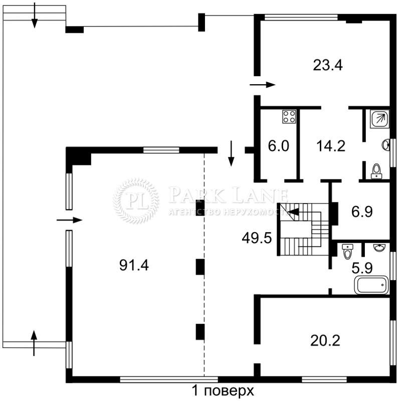 Дом B-95370, Козин (Конча-Заспа) - Фото 3
