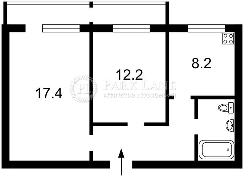 Квартира B-95923, Гетьмана Вадима (Индустриальная), 46, Киев - Фото 3