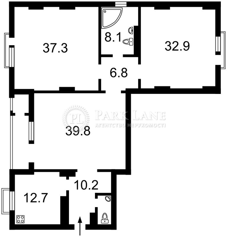 Квартира ул. Коновальца Евгения (Щорса), 44а, Киев, B-93578 - Фото 2