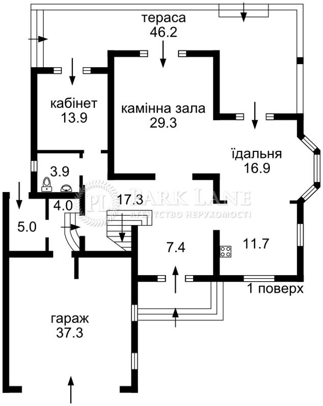 Будинок вул. Набережна, Вишеньки, R-10009 - Фото 2