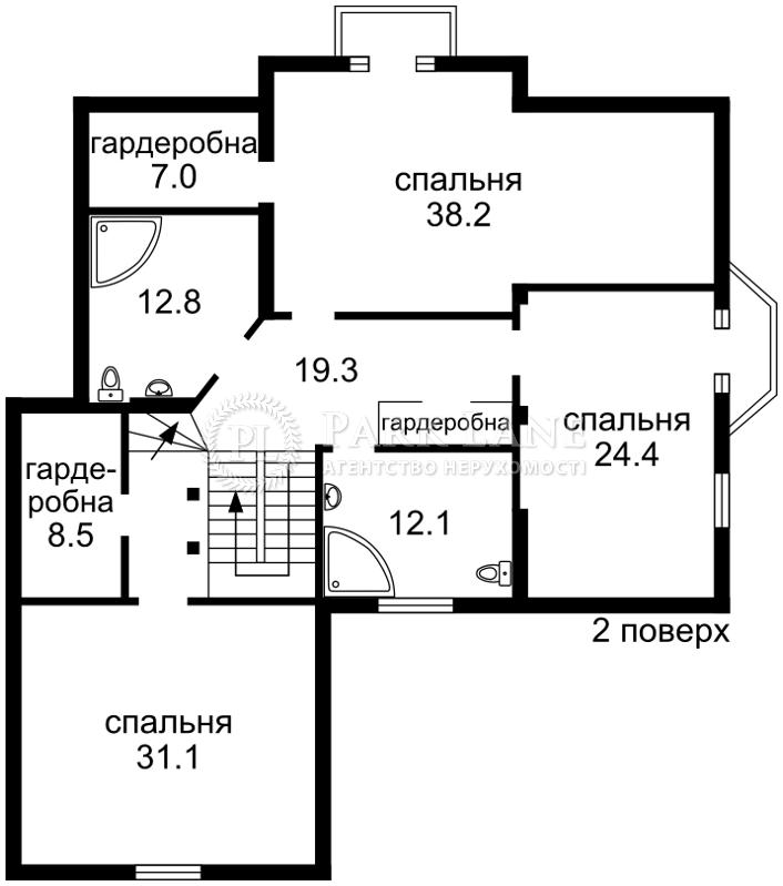 Будинок вул. Набережна, Вишеньки, R-10009 - Фото 3