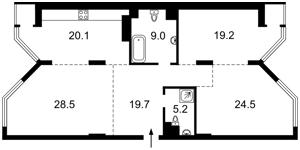 Квартира B-95544, Болсунівська (Струтинського Сергія), 2, Київ - Фото 9
