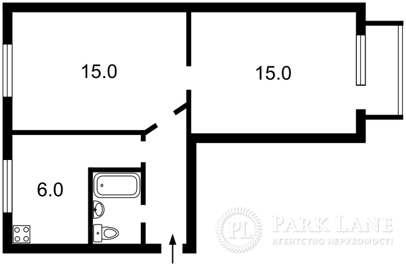 Квартира ул. Жилянская, 45, Киев, Z-1088876 - Фото 2