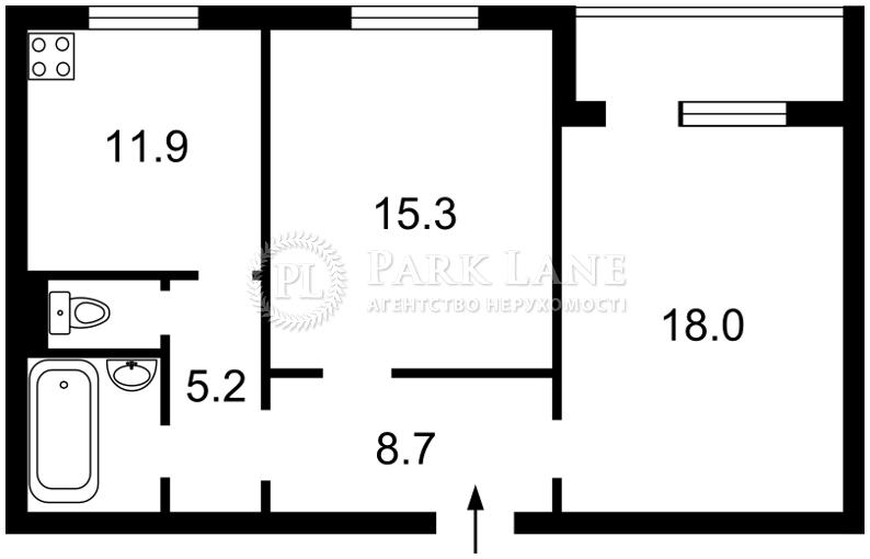 Квартира J-14387, Драгоманова, 8, Киев - Фото 3