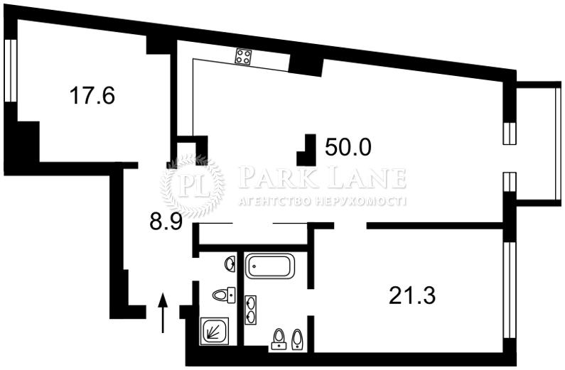 Квартира вул. Щекавицька, буд.№53, Київ, N-18555 - Фото 2