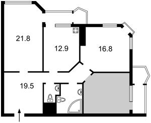 Квартира Z-208550, Кудряшова, 18, Киев - Фото 9